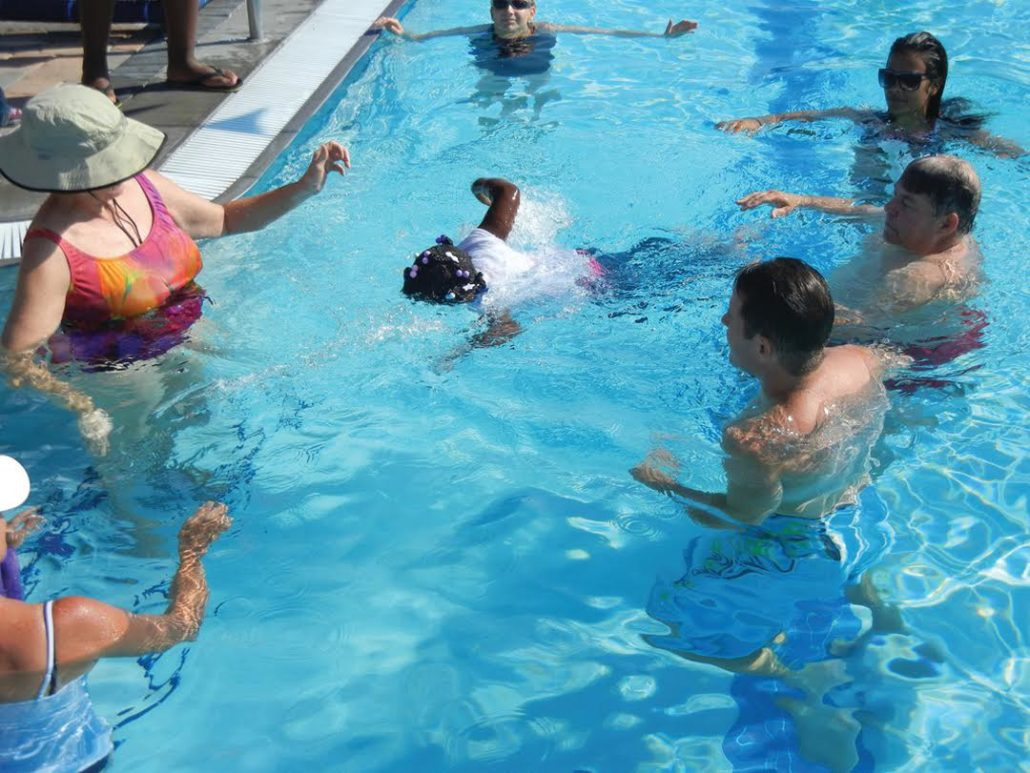 Swimming pool for babies in St. Petersburg. The benefits of swimming for babies 1