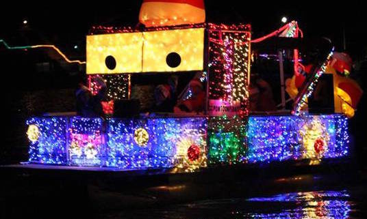 52nd Annual Madeira Beach Festival Of Lights Boat Parade