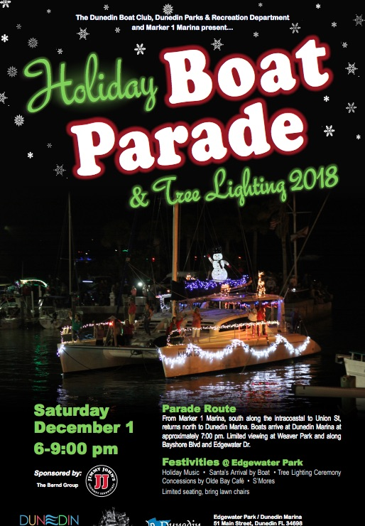 Dunedin Christmas Parade 2019 Paradise News Magazine | Dunedin Holiday Boat Parade & Tree Lighting